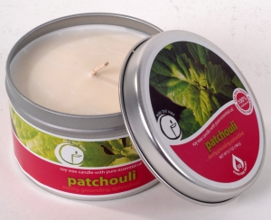 Patchouli Aromatherapy Candles
